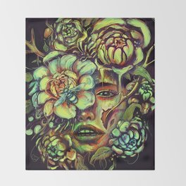 Pollinate Throw Blanket