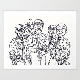Boys'll B Boys Art Print