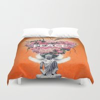 peace Duvet Covers featuring Peace by Eleaxart