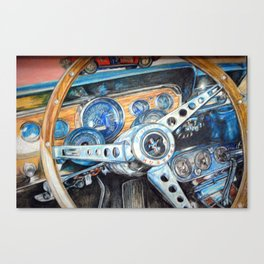 64 and one half  Canvas Print