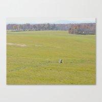 battlefield Canvas Prints featuring Gettysburg Battlefield by Scenic Sights by Tara