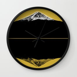 Fuji reflect01 Wall Clock