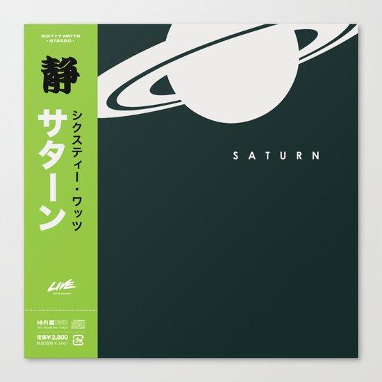 Saturn - Variant Canvas Print