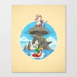 Dragon Roost Island Canvas Print