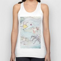 cook Tank Tops featuring Cook Party by Jane Chu
