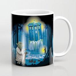 MAy the Tardis be with you! Coffee Mug