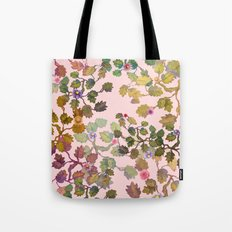 pink nature garden Tote Bag