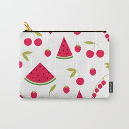 Pattern watermelon cherry raspberry currant Carry-All Pouch