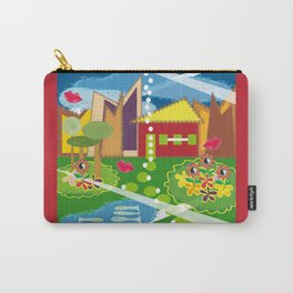 Love My House Toyism Carry-All Pouch
