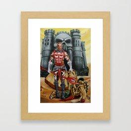 Zodak : King Hiss Defeated Framed Art Print