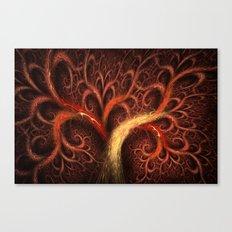 Fractal Design Tree of Life Canvas Print