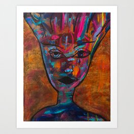 Wisdom Woman Art Print