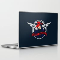 peggy carter Laptop & iPad Skins featuring Where in the World is Peggy Carter? by Aaron Synaptyx Fimister