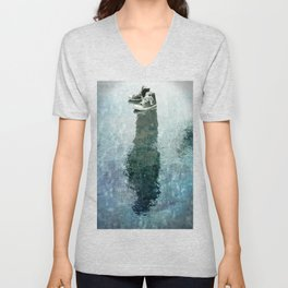 The Invisible Man Left View Unisex V-Neck
