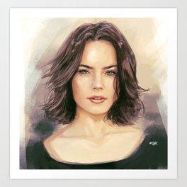 Daisy Ridley Art Print