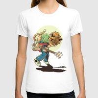 scott pilgrim T-shirts featuring Cat Pilgrim Versus The Litterbox of the World! by RHOB Designs