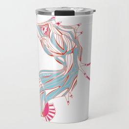 Robot Seahorse Travel Mug