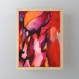 MELTING SUN Framed Mini Art Print