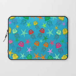 Colorful jellyfish Laptop Sleeve