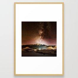 Prospect Milky Way Framed Art Print