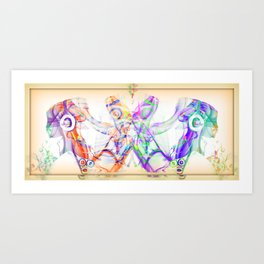 Let the Music Flow Art Print