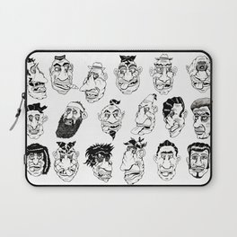 Shafted! Character sheet Laptop Sleeve