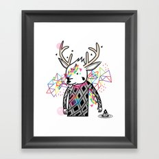 WWWWWWW OF PAUL PIERROT STYLE Framed Art Print