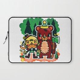 Lumberjack and Friend Laptop Sleeve