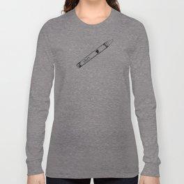 Shirt Coloured Crayon Long Sleeve T-shirt