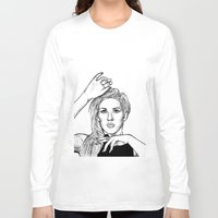 ellie goulding Long Sleeve T-shirts featuring Ellie Goulding by Sharin Yofitasari