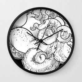 Cthulhu (B&W Version I) Wall Clock