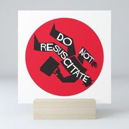 Do Not Resuscitate - Alfred Hitchcock - Saul Bass Mini Art Print