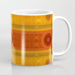 """""""Ethnic Pattern Warm Tones II"""" Coffee Mug"""
