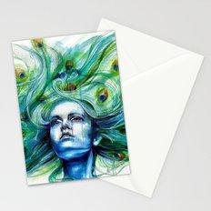 Peacock- Metamorphosis Stationery Cards