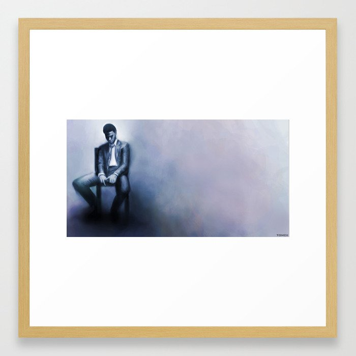 Trapped in my Mind  Framed Art Print