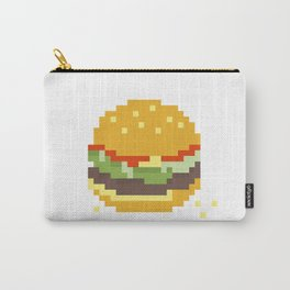 Pixel Burger Carry-All Pouch