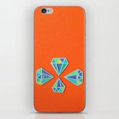 Diamonds Papercut iPhone & iPod Skin