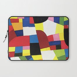 Chartres by Otto Freundlich - Vintage Painting Laptop Sleeve