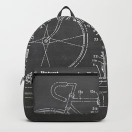 Bike carrier patent Backpack