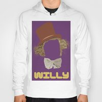 willy wonka Hoodies featuring Willy Wonka and you by Ally Simmons