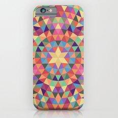 Happy triangle mandala iPhone 6s Slim Case