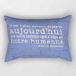 Thus Spake Albert Einstein Rectangular Pillow