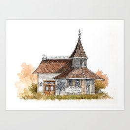 Clovis Tourist Information and Visitors Center Art Print