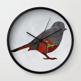 Little Garden Bird Wall Clock
