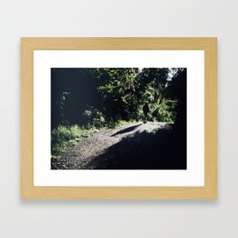There's a light #03 Framed Art Print