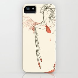 Too Much Heart iPhone Case