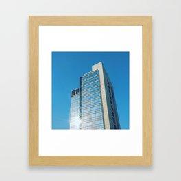 Random Building Framed Art Print
