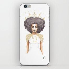 The Great Queen Violetta iPhone Skin