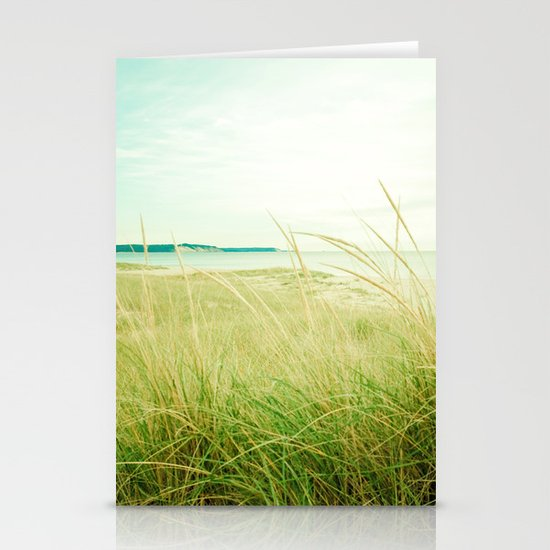 September at the Beach Stationery Cards