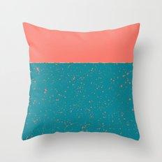 XVI - Peach 2 Throw Pillow